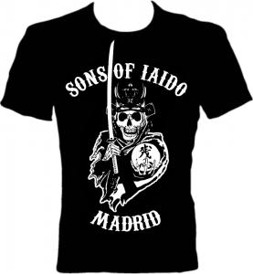 Sons of iaido. Camisetas de kendo La katana disléxica (diseñamos por el LOL)