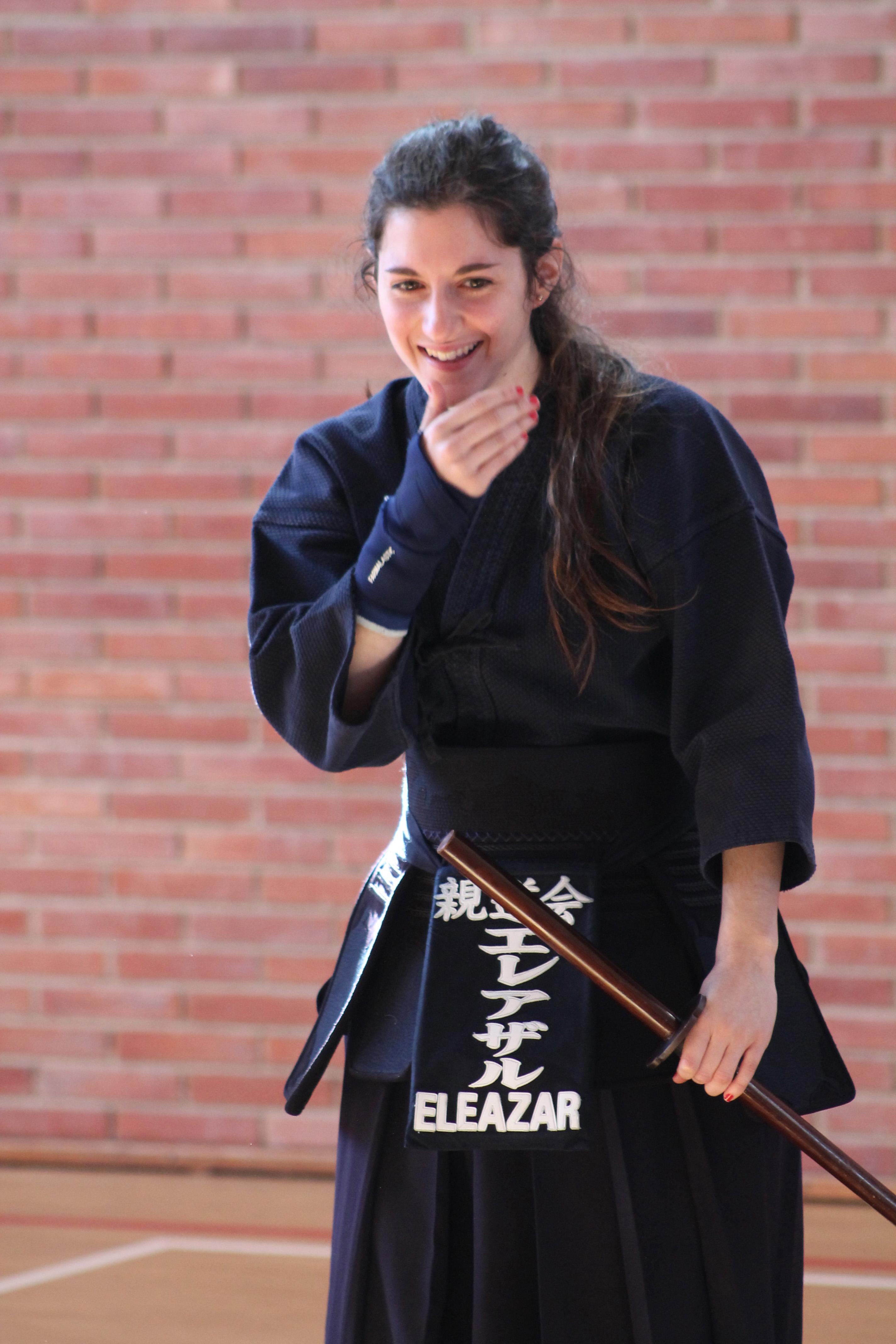 Kendo no kata, dojo de la Universidad de Navarra (España)